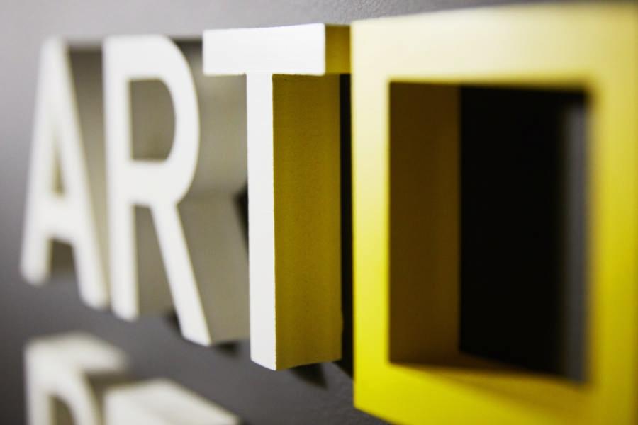 Lettre & logo 3D